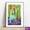 Original Artwork: Green Fairy, A4 size by Panagiotis Theofilopoulos
