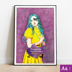 Original Artwork: Lady in Yellow by Panagiotis Theofilopoulos