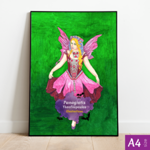 Original Artwork: Purple Fairy